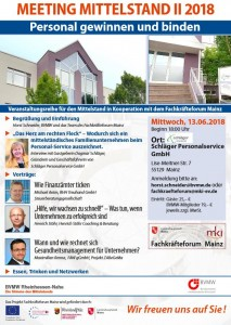 BVNW Meeting Mittelstand 13.06.2018